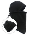 【SNOW SHIELD】多功能保暖造型帽『黑』S-12 圍巾.頭巾.面罩.造型帽.帽子.禦寒.防寒.保暖.戶外.旅遊