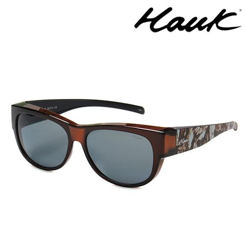 HAWK偏光太陽套鏡(眼鏡族專用)HK1006-70