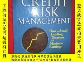 二手書博民逛書店Credit罕見Risk Management: How to