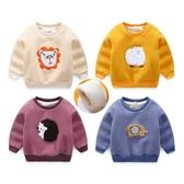 加絨保暖兒童長袖上衣 加厚棉寶寶T恤 動物造型童裝 QY188 好娃娃