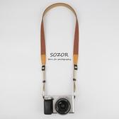 相機肩帶 數碼相機肩帶微單反背帶復古文藝牛仔快拆佳能G7X卡片機掛繩
