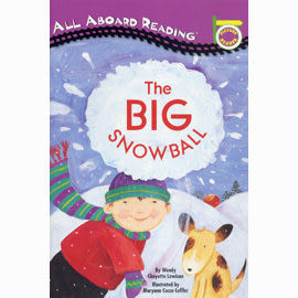 【汪培珽書單】〈All Aboard Reading系列:Picture Reader 〉THE BIG SNOWBALL