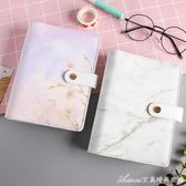 韓國簡約清新六孔活頁筆記本文具 A6手帳本記事本創意彩色手賬本艾美時尚衣櫥