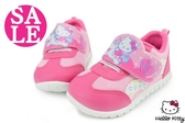 Hello kitty運動鞋 中童 台灣製 柔軟透氣休閒鞋 零碼出清 G7925#粉◆OSOME奧森鞋業