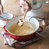 18cm防溢鍋雙耳加厚搪瓷小湯鍋【洛麗的雜貨鋪】