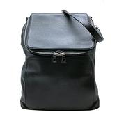【台中米蘭站】全新展示品 LOEWE Goya 經典烙印logo手提後背二用包(黑)