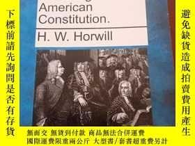 二手書博民逛書店The罕見Usages of the American Constitution(美國憲法的用法)Y15478