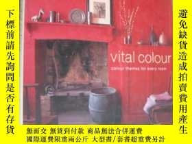二手書博民逛書店VITAL罕見COLOUR:Color themes for e