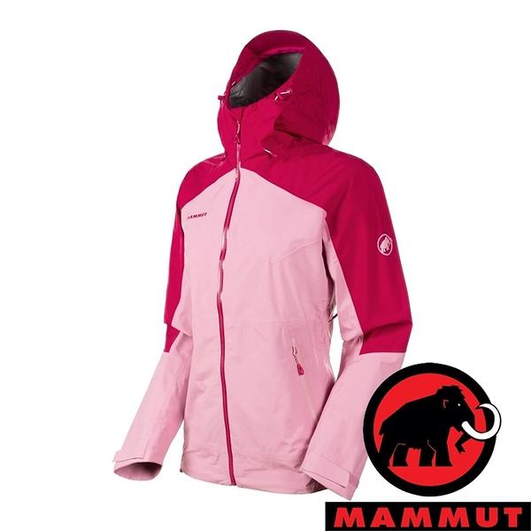 【MAMMUT 長毛象】Convey 女 GT單件式連帽外套『夕陽紅』1010-27850 戶外 外套 冬季 保暖 禦寒