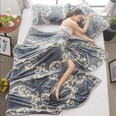 2018春夏秋季床單珊瑚絨夏季單人薄款成人薄毯雙人春秋冬季毛毯