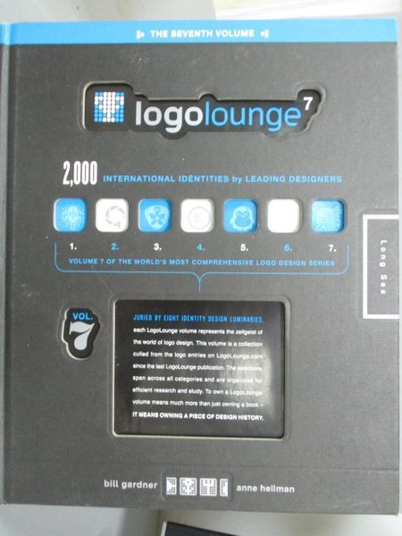 【書寶二手書T4/設計_QDH】LogoLounge7_Bill Gardner