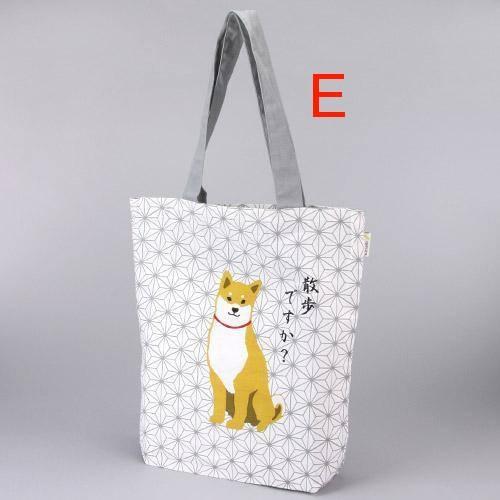 日本進口~ 柴犬 A4肩背袋 (共5款)