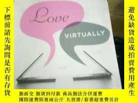 二手書博民逛書店love罕見virtually glattauerY15389