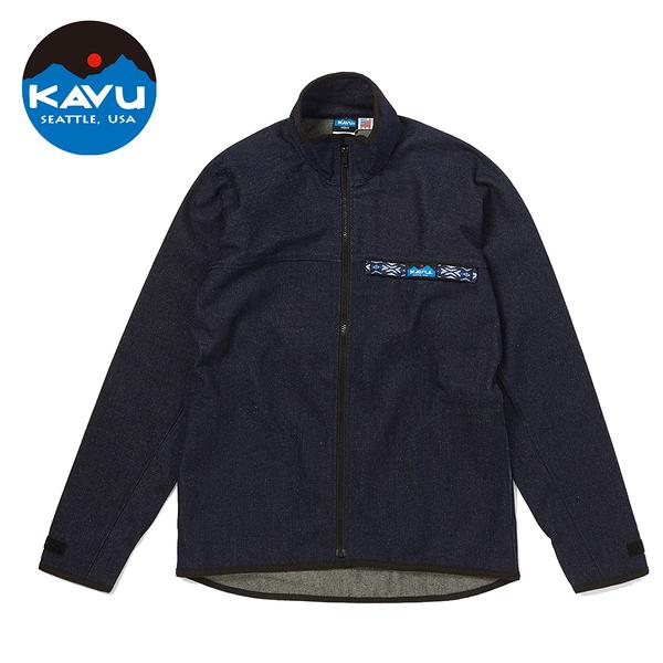 【日本限定款】西雅圖 KAVU F/Z Throw Shirts 襯衫式外套 丹寧藍 #307