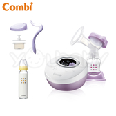 康貝 Combi 自然吸韻單邊電動吸乳器 Light ★贈 手動配件組+大奶瓶(材質隨機)