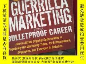 二手書博民逛書店Guerrilla罕見Marketing for a Bulle