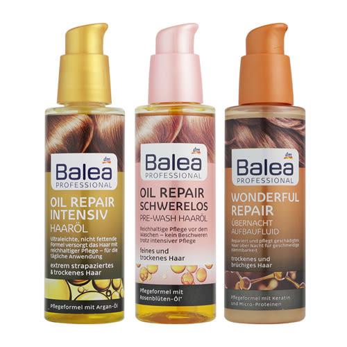 德國 Balea 摩洛哥護髮油 100ml 護髮精華【新高橋藥妝】3款供選