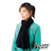 olarStar】保暖圍巾『黑』P16625 圍脖 披肩 兩用 針織圍巾 素色圍巾 保暖防風