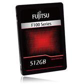 Fujitsu F100 512GB SSD固態硬碟2.5吋 SATAIII【愛買】
