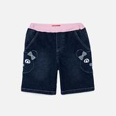 WHY AND 1/2 普普熊牛仔短褲 11Y~12Y