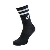 ASICS 中筒運動襪(襪子 慢跑 路跑 一雙入 亞瑟士 免運 ≡排汗專家≡