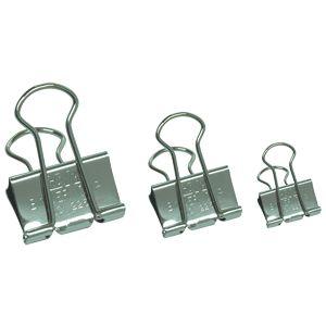 【手牌SDI】0237-1/0237T 銀色長尾夾 (15mm)