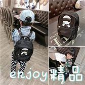 韓版兒童書包幼兒園6歲3男童雙肩包小男孩包包時尚防水旅游背包潮  enjoy精品