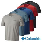 Columbia 男 快排UVP50短袖V領上衣-五色可選 【GO WILD】