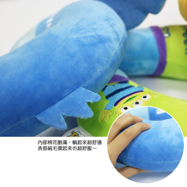迪士尼 正版授權 舒壓頸枕 U型枕/午安枕/午睡枕/抱枕/靠枕/靠墊