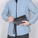 男包手包手拿包 休閑多卡位大容量手包 經典老花文件包手抓包 多卡位夾包信封包 男士手拎手拿包