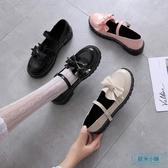 大頭鞋 日系洛麗塔小皮鞋女復古森女軟妹可愛大頭娃娃鞋學生厚底lolita鞋 歐米小鋪