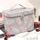 ins網紅化妝包女便攜大容量旅行防水隨身少女心化妝品收納盒袋箱 小艾新品