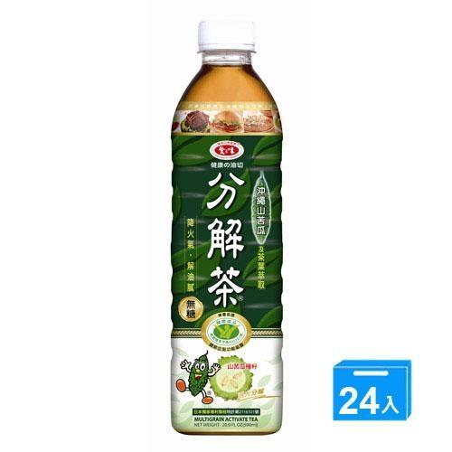 愛之味健康油切分解茶590ML