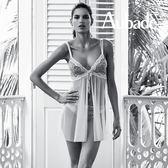 Aubade-愛神優雅S蕾絲綁帶罩裙CH