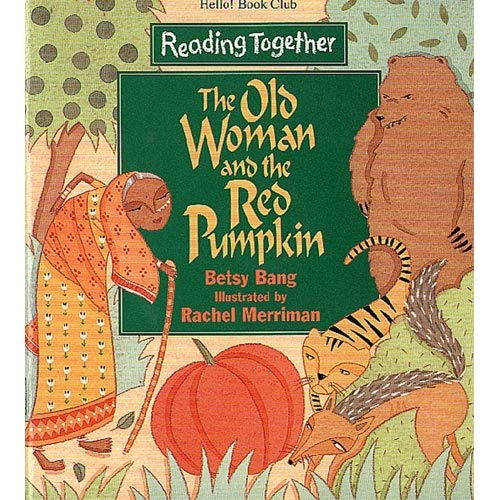 【Reading Together】The Old Woman and the Red Pumpkin(1Book + 1CD)