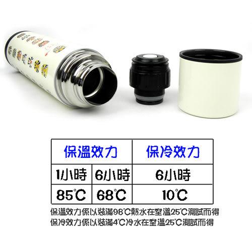 【SILWA】西華造型臉譜真空保溫瓶(400ml)