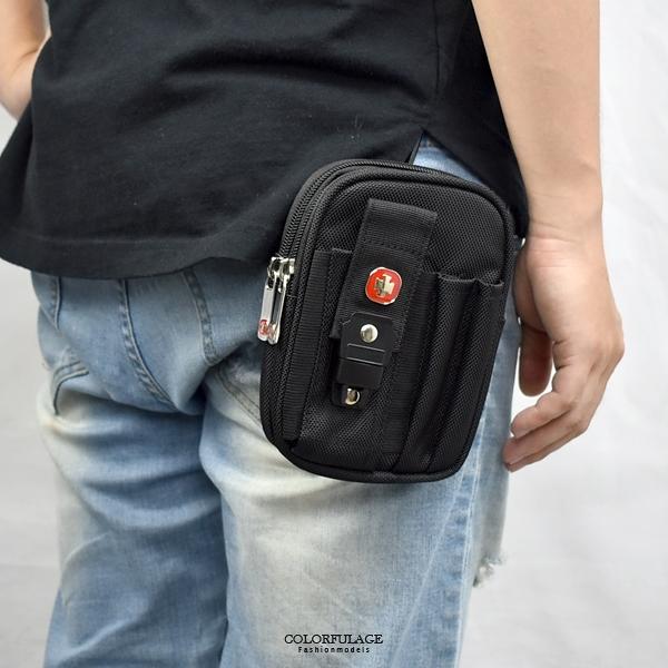 腰包 簡單隨身黑色小包 NZD21