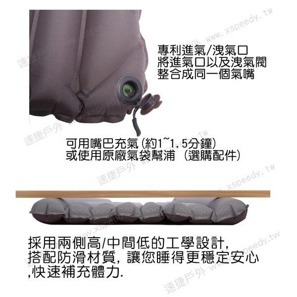 【速捷戶外】瑞士 EXPED 69588 超輕量打氣式全身睡墊AirMat UL Lite M (附mini幫浦), 登山睡墊