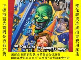 二手書博民逛書店英文原版罕見Goosebumps HorrorLand #4: The Scream of the Haunted