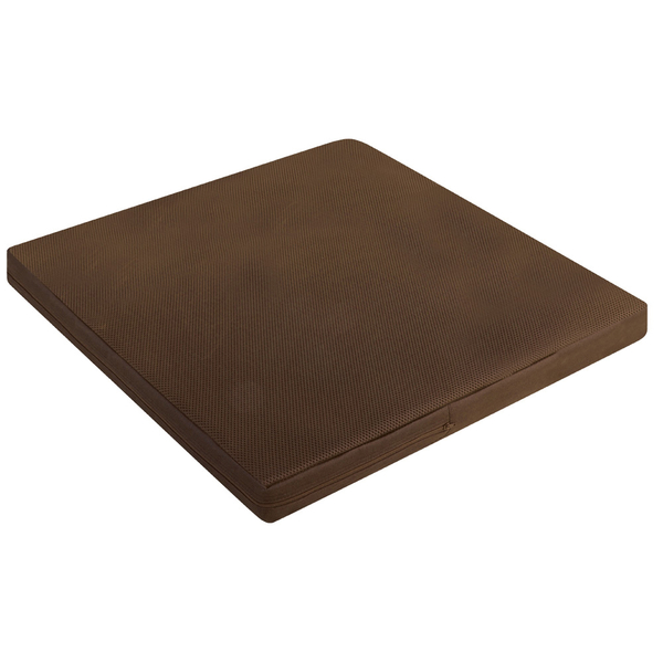源之氣【Q加大四方】RM-40551竹炭靜坐墊/二色可選 60x60x6cm-台灣製