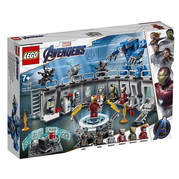 LEGO 樂高 Marvel 復仇者聯盟 76125 Iron Man Hall of Armor 【鯊玩具Toy Shark】