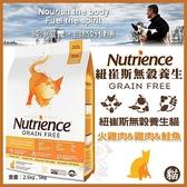 *WANG*美國Nutrience紐崔斯《無穀養生貓-火雞鲱魚》2.5公斤