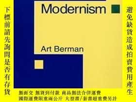 二手書博民逛書店Preface罕見To ModernismY255174 Art