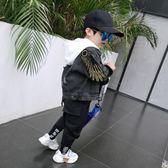 男童外套 男童牛仔外套 潮兒童秋季3-5歲寶寶新款7正韓春秋裝洋氣小童