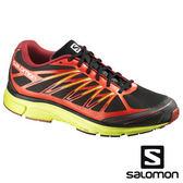 【SALOMON 法國】 X-TOUR 2男城市越野跑鞋『黑/蕃茄紅』越野鞋.登山鞋370721