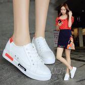 韓版新款時尚小白鞋 休閒透氣低幫平底百搭運動單鞋