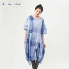 a la sha 砰砰袖抽繩創意洋裝
