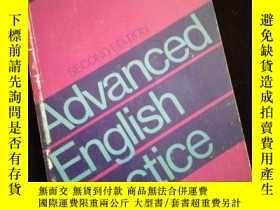 二手書博民逛書店Advanced罕見English Practice Second Edition (英文)Y16149