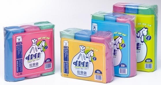 快樂馬-3入(小)垃圾袋500G