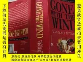 二手書博民逛書店GONE罕見WITH THE WIND(飄)外文版Y200392